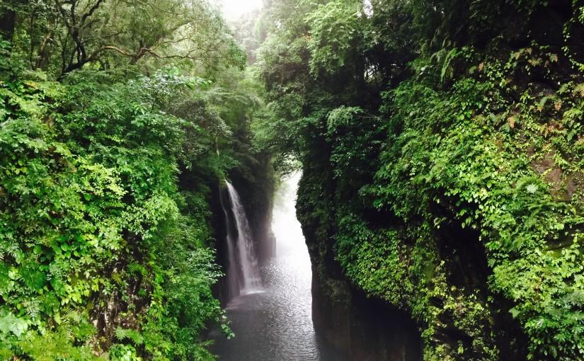 宮崎県西臼杵郡高千穂町の高千穂峡に行ってきた